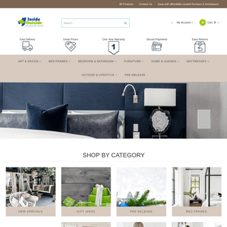 High Quality Furniture & Furnishings for Sale Melbourne - Inside Outside