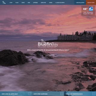 Bluefin Bay Family of Resorts - Lutsen & Tofte