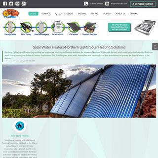 ArchiveBay.com - solartubs.com - Solar Water Heater Panels & Collector- Northern Lights Solar Solutions