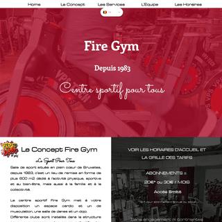 Fire Gym - Jette - Sport pour tous