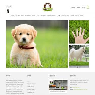 ArchiveBay.com - pottyplant.com.au - Potty Plant - Grass Dog Toilets