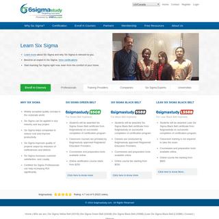 ArchiveBay.com - 6sigmastudy.com - Six Sigma Certification