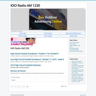 KXO Radio AM1230