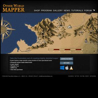 Other World Mapper - Fantasy Map Software