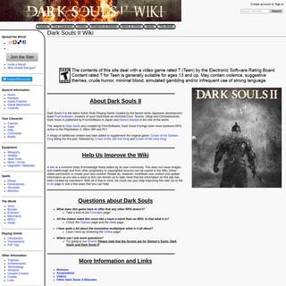 Dark Souls II Wiki - DarkSouls II Wiki