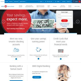 Personal Banking Accounts - BMO Harris Bank