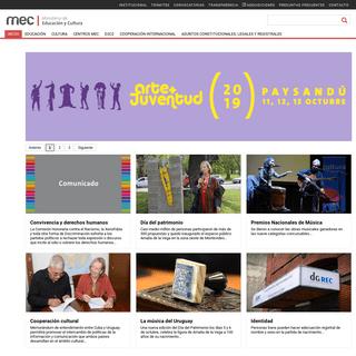 MEC -Ministerio de Educación y Cultura - Uruguay