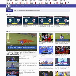 ON Sports - Trang tin tức bóng đá nhanh và chính xác nhất