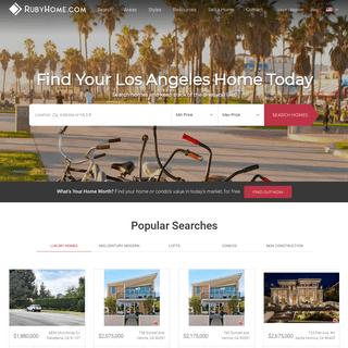 RubyHome -- Los Angeles, CA REALTORS®