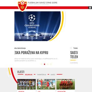 ArchiveBay.com - fscg.me - Fudbalski savez Crne Gore