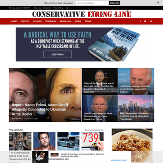 Conservative Firing Line • Hard-hitting conservative news and views.
