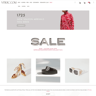 Vitkac - Luxury, Premium & Contemporary Shopping