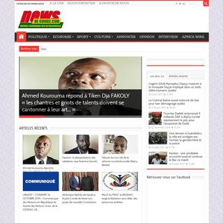 Accueil - News de Guinee.com