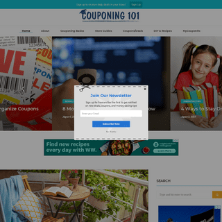 Couponing 101 - Helping You Save Money with Coupons and Deals