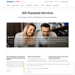 Home - SIX Payment Services