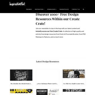 Inspiration Hut - Creative Inspiration & Professional Design Assets