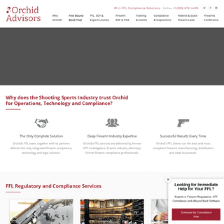 ArchiveBay.com - orchidadvisors.com - #1 in FFL Compliance Solutions - Orchid Advisors