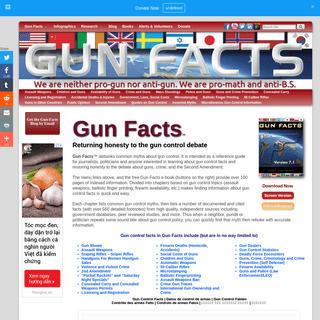 Gun Facts - Debunking Gun Policy Misinformation