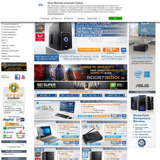 PC-Online-Shop für günstige PC-Systeme, Notebooks & Computer Zubehör - CSL-Computer-Shop