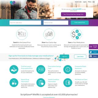 ArchiveBay.com - wellrx.com - Prescription Coupons, Savings, Rx Discounts and Medication Information