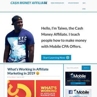 Cash Money Affiliate – Mobile CPA Marketing