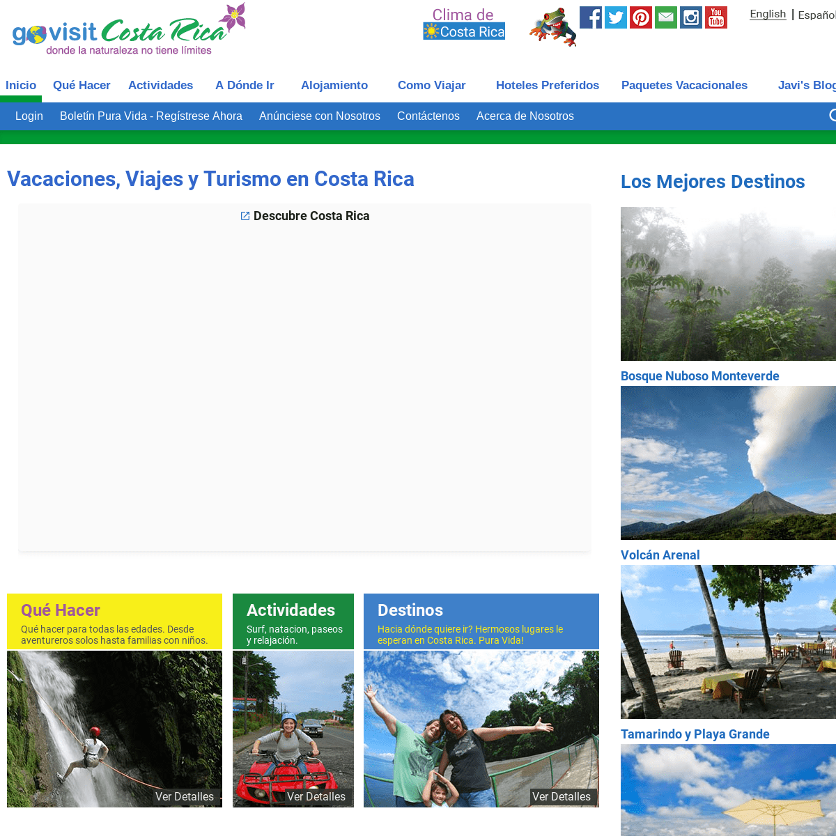 ArchiveBay.com - govisitcostarica.co.cr - Vacaciones, Viajes y Turismo en Costa Rica - Go Visit Costa Rica