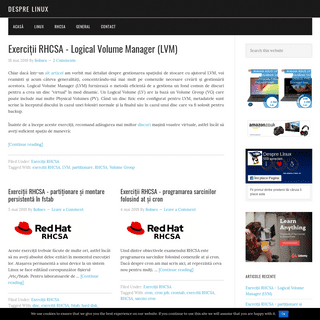 Despre Linux -