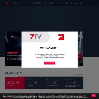 ProSieben - TV Programm, Videos und Infos zu allen Sendungen