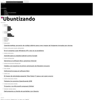 Ubuntizando.com - Linux, Ubuntu y otras cosillas geek