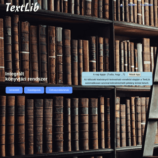 A complete backup of textlib.hu