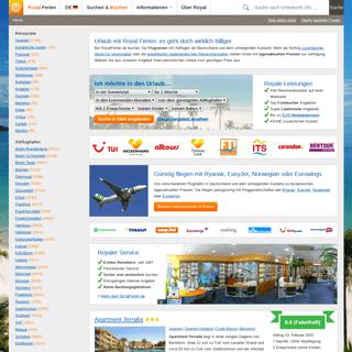 RoyalFerien.de- Günstiger Urlaub mit Royal
