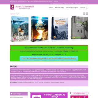 Esotheria izdavačka kuća - Knjige koje menjaju život!
