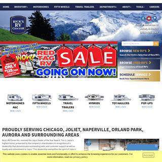 Rick's RV - Chicago Area RV Dealer - Naperville RVs For Sale