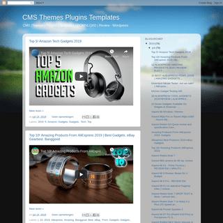 CMS Themes Plugins Templates