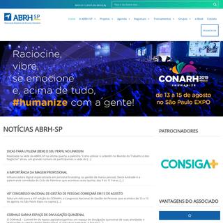 ArchiveBay.com - abrhsp.org.br - ABRH-SP - Associação Brasileira de Recursos Humanos São Paulo
