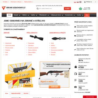 Zbrane-vzduchovky.cz - online obchod se vzduchovými zbraněmi