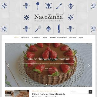 Nacozinhabrasil - Um pouco de tudo na cozinha, inclusive flores