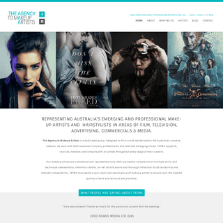 ArchiveBay.com - theagencytomakeupartists.com.au - The Agency to Makeup Artists - Home