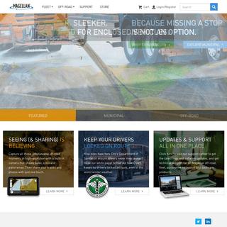 Home - Fleet & Municipal Navigation Solutions - Off-Road GPS Navigation - Magellan GPS
