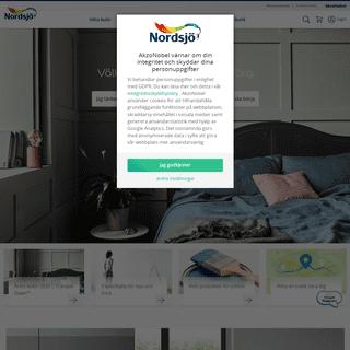 ArchiveBay.com - nordsjo.se - Home Page - Målarfärg - Nordsjö färg och kulör för inredning och utomhus