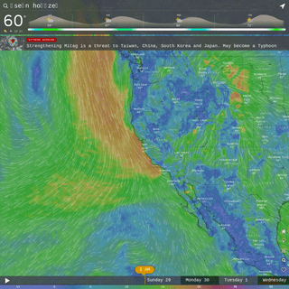 Windy- Wind map & weather forecast