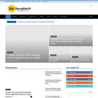 StoryNotch - Viral Stories, News & Entertainment