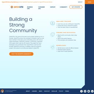 Open Source Community - OpenVPN