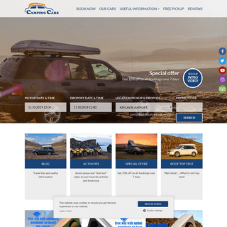 Car Rental Iceland - Camping Cars