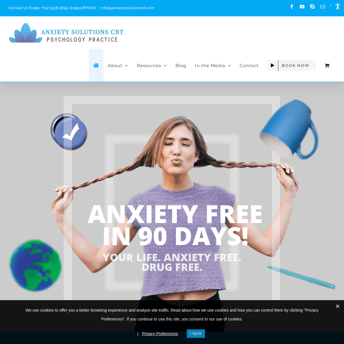 Anxiety Solutions CBT – The Stress & Anxiety Treatment Specialists