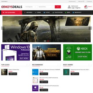 ArchiveBay.com - cdkeysdeals.com - Cdkeysdeals - Buy Windows 10, Steam, Origin & Uplay Cdkeys