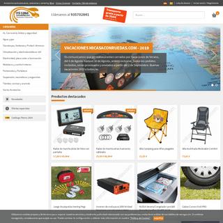 Tienda online MICASACONRUEDAS, Accesorios autocaravanas, caravanas y camping.