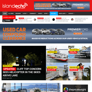 Island Echo - Latest Isle of Wight news, weather, travel and information