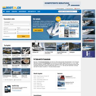Bootsmarkt - die grösste Schweizer Bootsbörse - boot24.ch