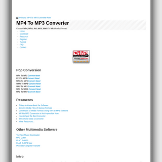 MP4 To MP3 Converter - Download FREE
